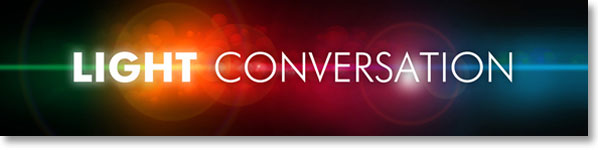 Light Conversation Newsletter Banner