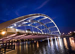 Rochester Bridge At Night - Frontiers in Optics 2012