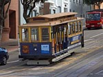 San Francisco Cable Car. Image courtesy Jon Sullivan
